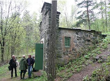 tyske lamper brukt i bunkere i norge